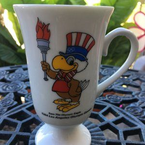 1984 OLYMPICS Sam The Eagle Coffee Mug